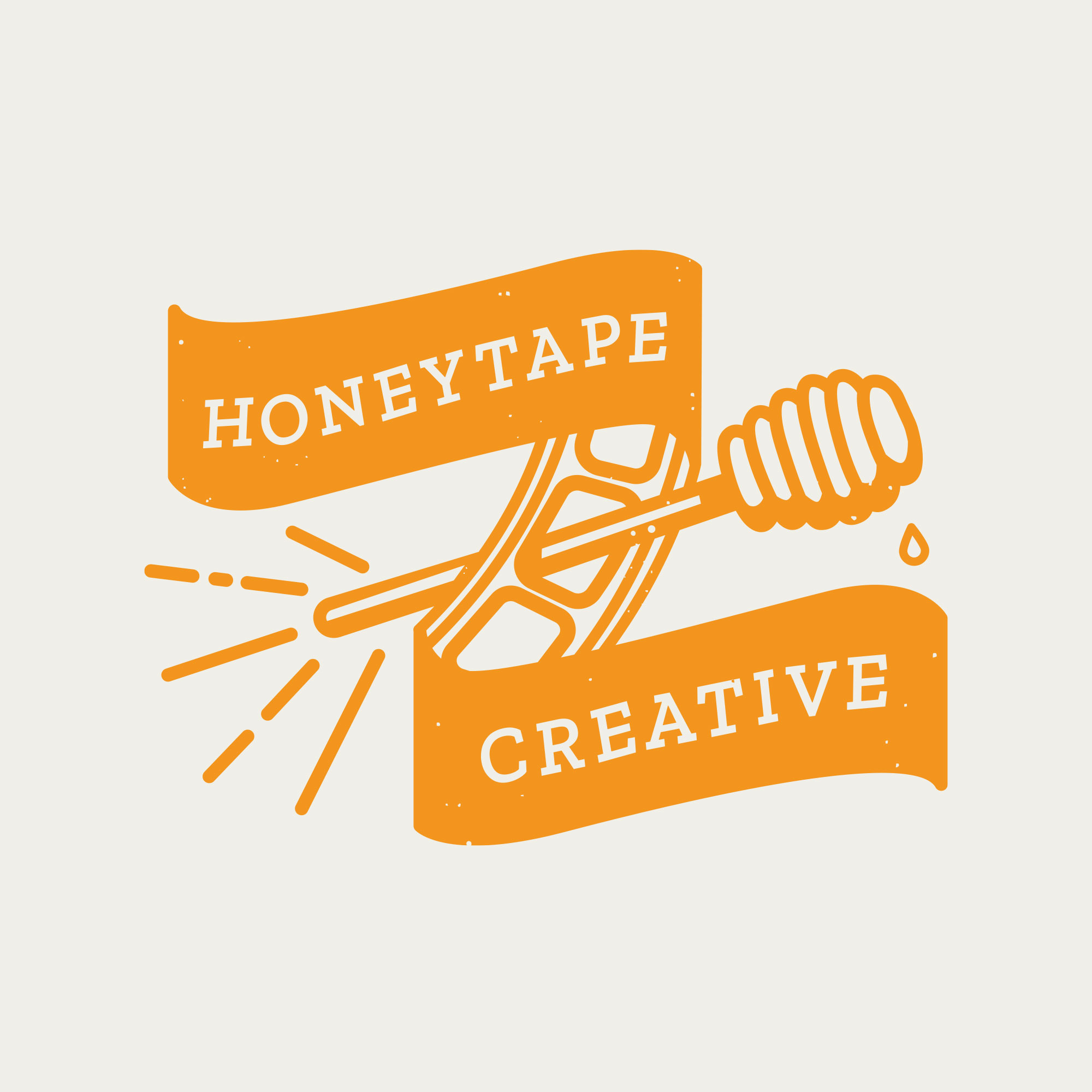 Honeytape Creative Branding by Buttercrumble