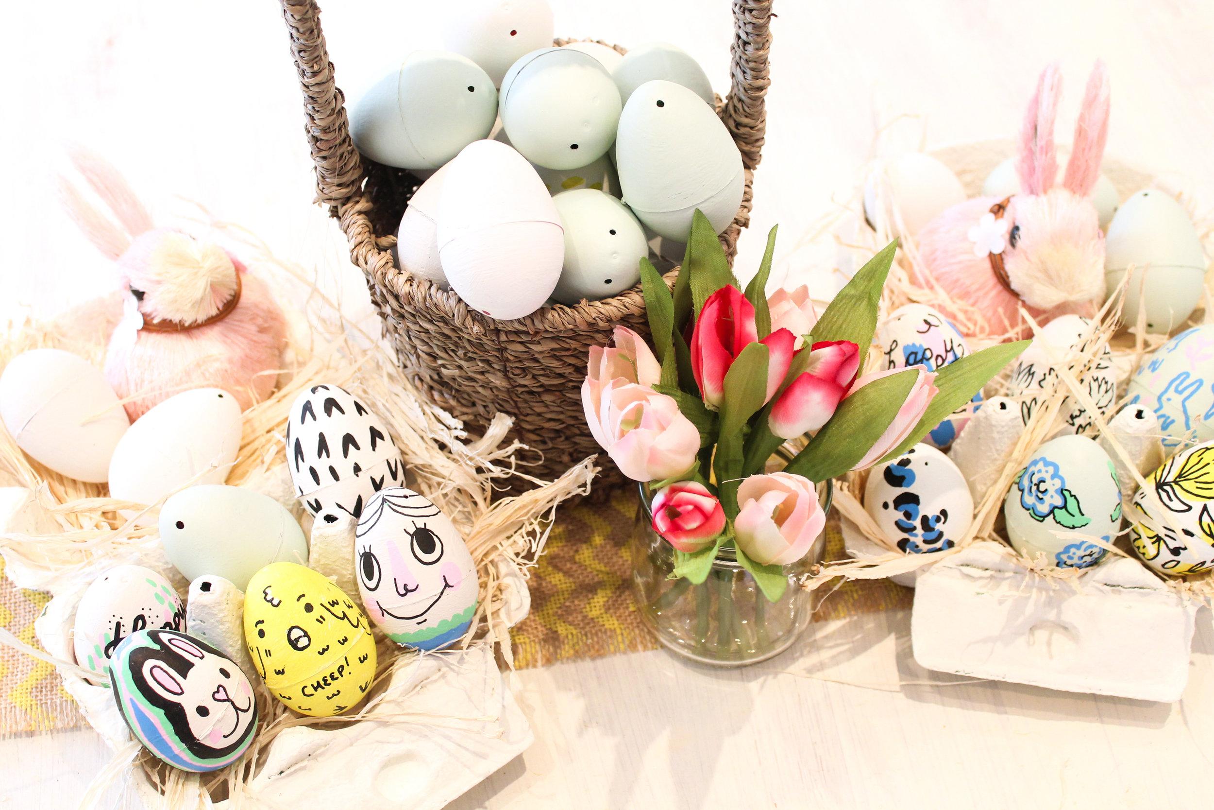 John Lewis x Buttercrumble - Easter Egg Illustration