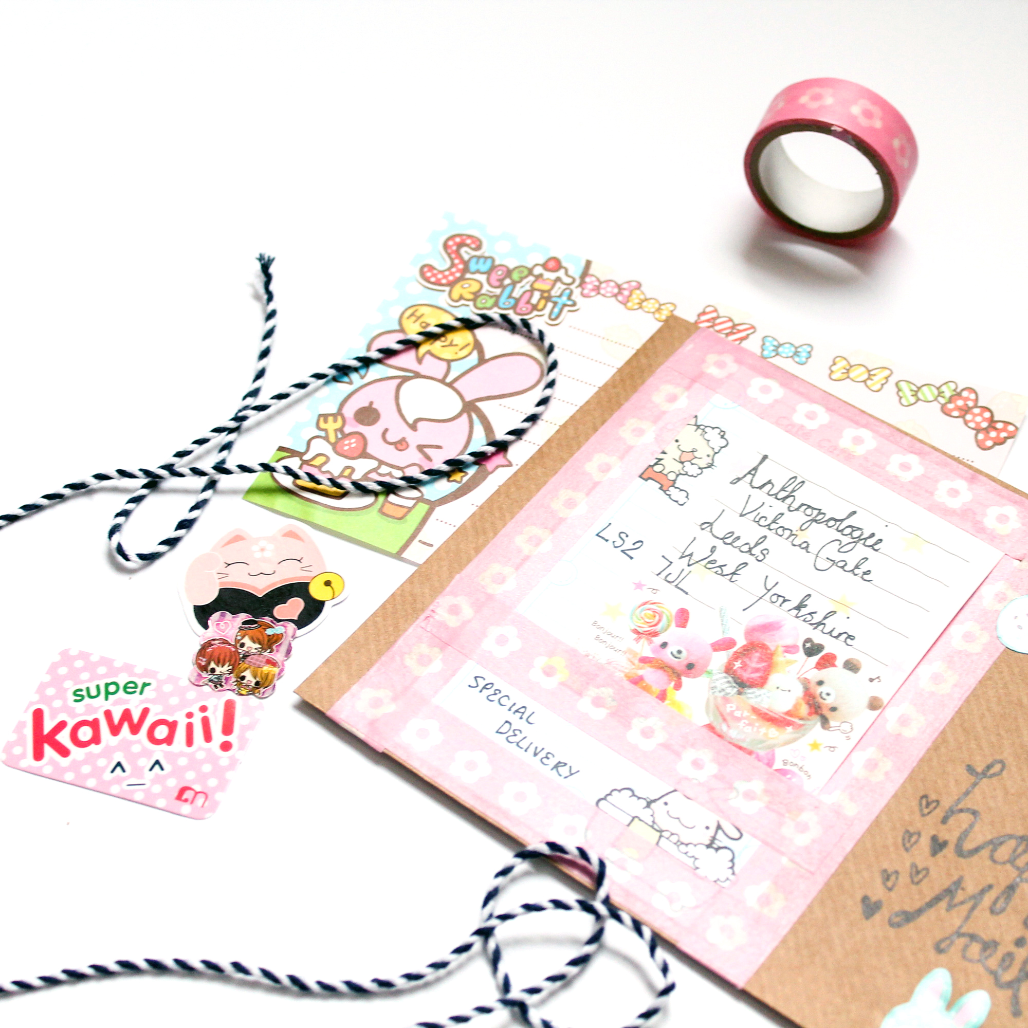 Anthropologie Buttercrumble Happy Mail Workshop