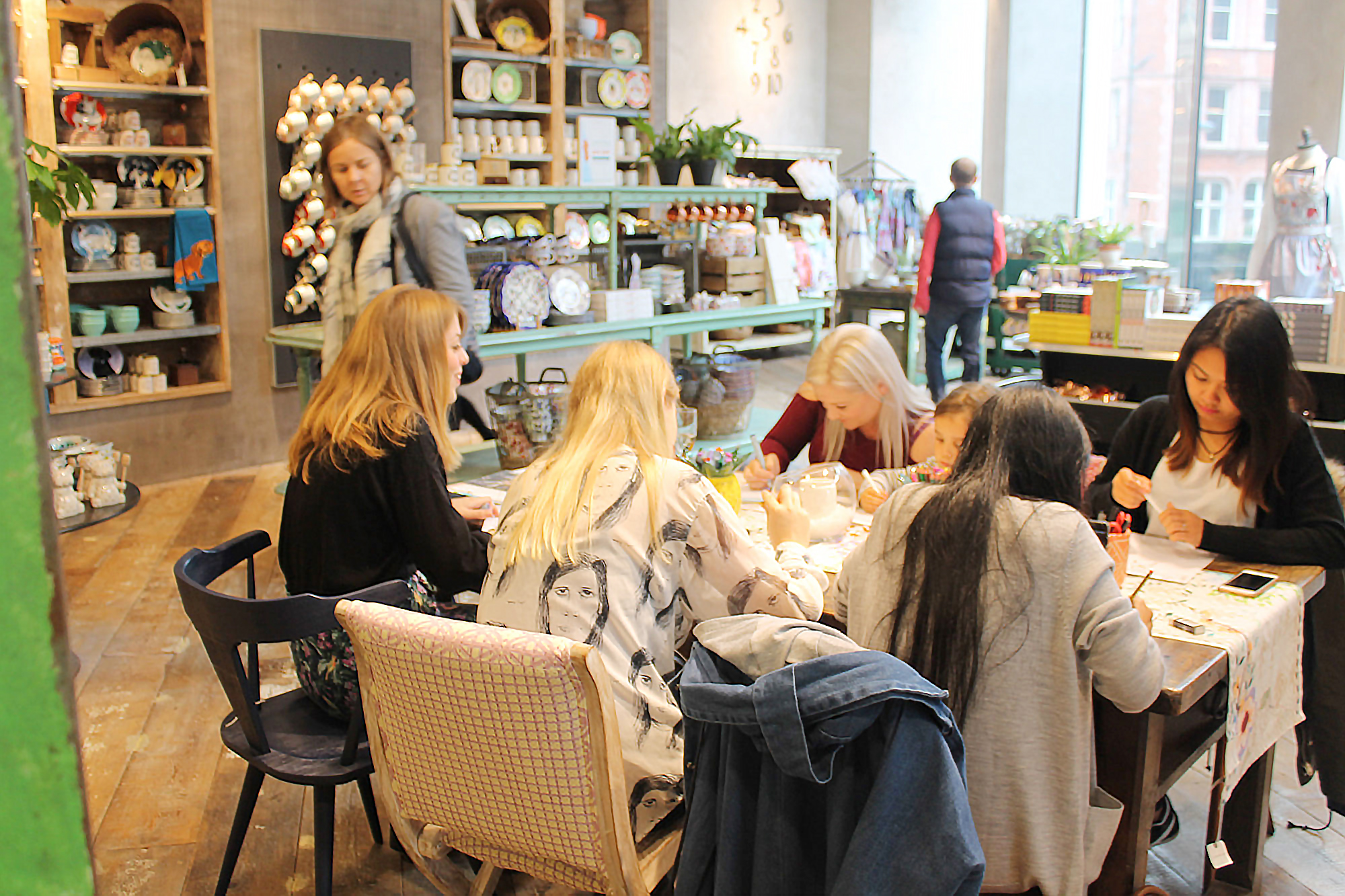 Anthropologie Buttercrumble Paper doll Workshop