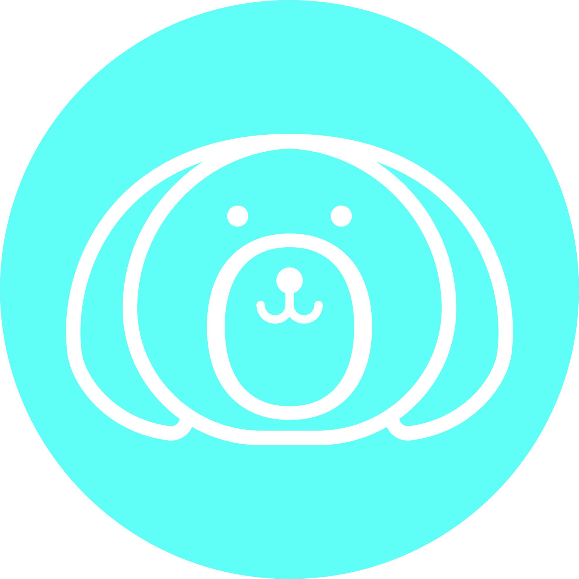 Bob & Lulu - Brandmark - Sticker - White - Blue.jpg