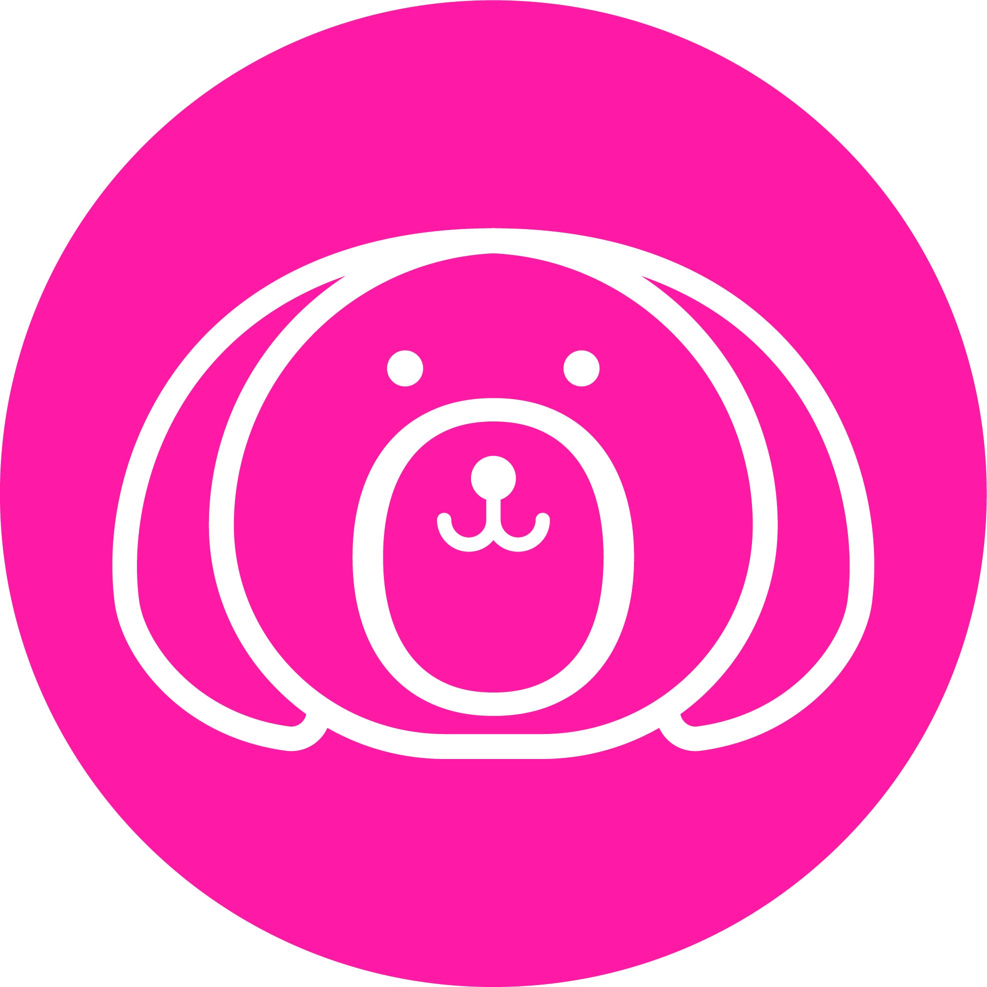 Bob & Lulu - Brandmark - Sticker - White - Pink.jpg