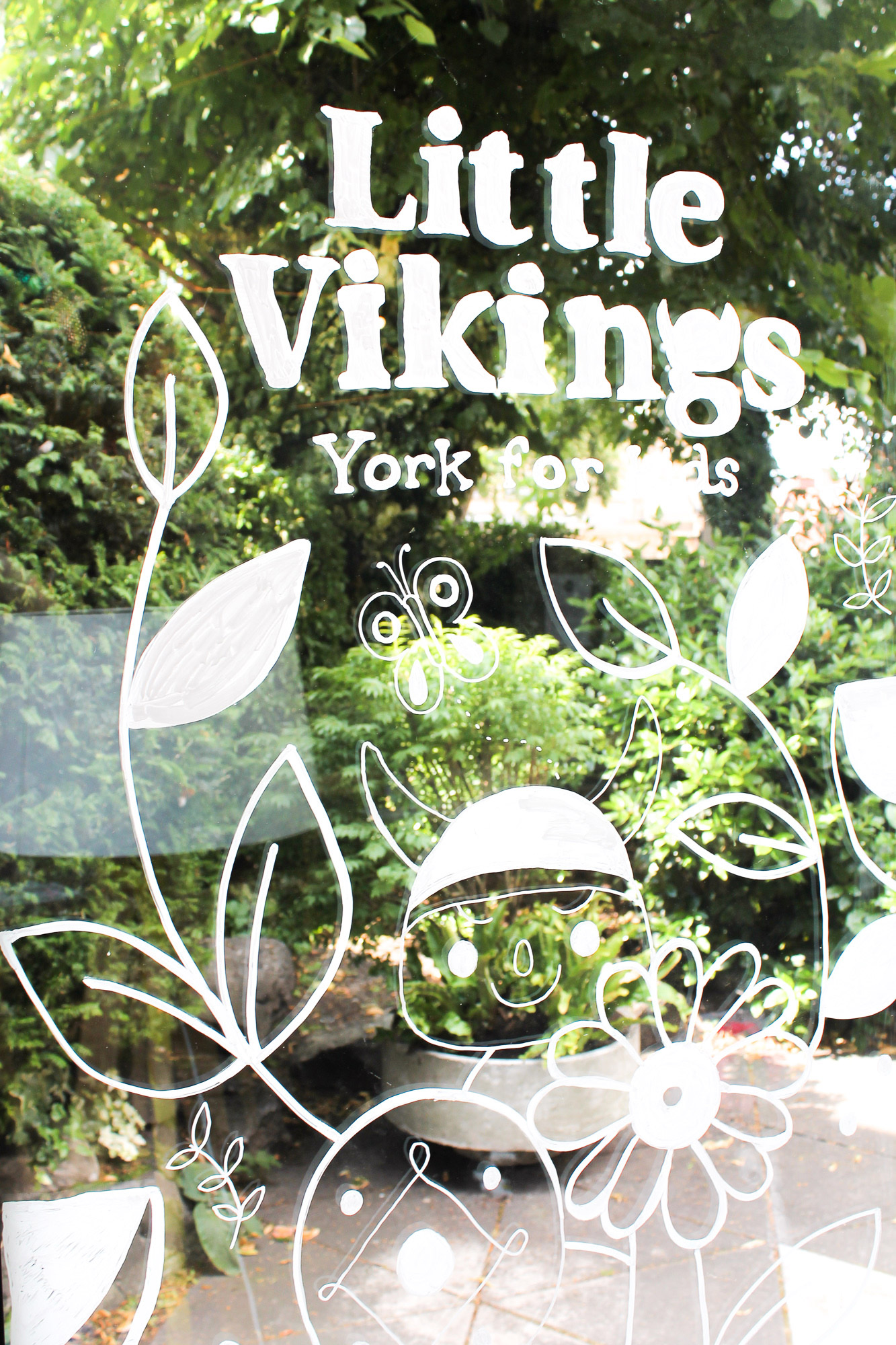 York Theatre Royal Little Vikings Mural Illustration Buttercrumble