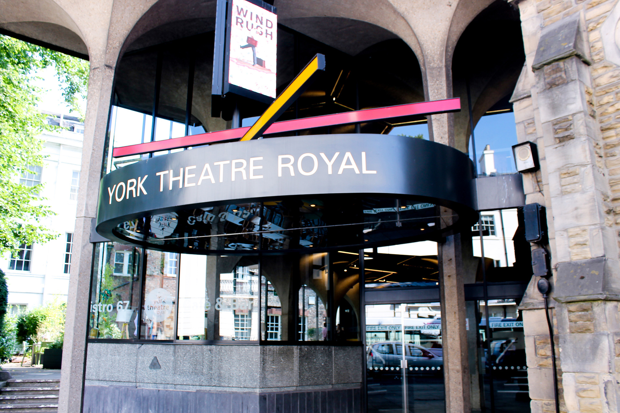 York Theatre Royal Mural Illustration Buttercrumble