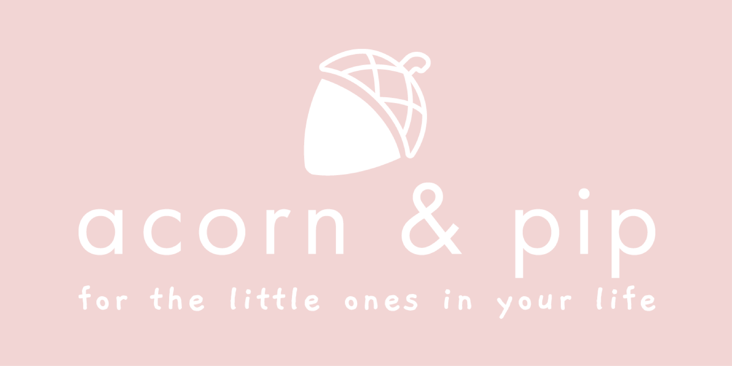 Acorn & Pip Branding by Buttercrumble