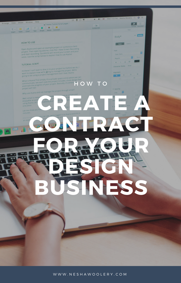 Click on this pin to access my month's masterclass, where I talked with special guest,  Annette Stepanian *, an Attorney At Law. Watch or listen to learn how contracts help you close the deal with high-quality clients, and exactly what to include in your design contract. #Freelance, #Business, #Design, #Masterclasses, #Legal, #Contracts, #Ironclad, #Templates #Tips #Ideas