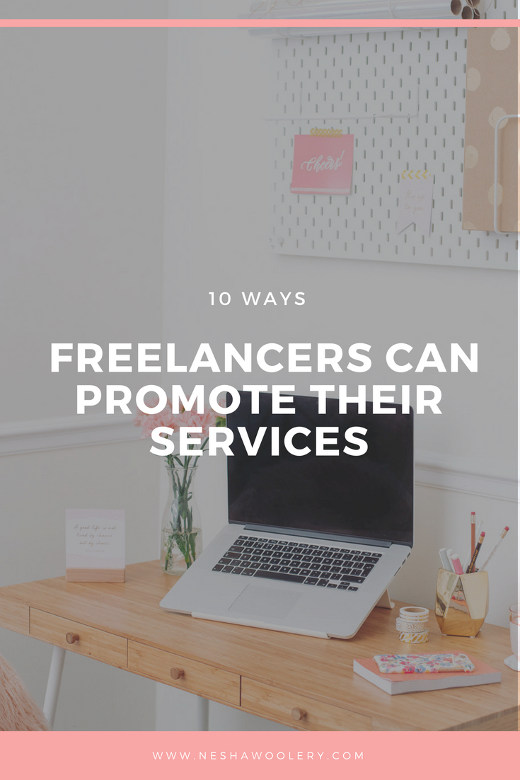 Marketing doesn't have to be sleazy, hard or boring. You don't have to devote lots of time to it. In fact, there are 10 simple ways freelancers can promote their services. Just click on this pin to uncover 10 simple ways freelancers can promote their services.  #Marketing #Freelancers #Business #Small Businesses #Promoting