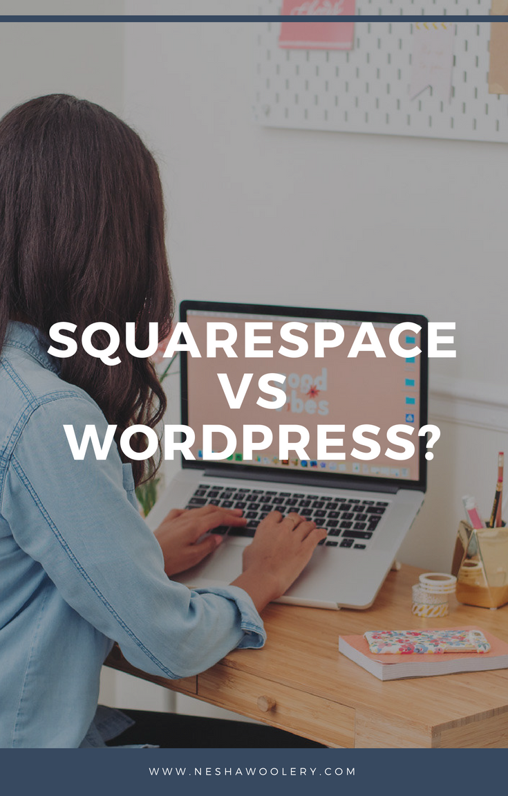 The question we all ask whether that be when were starting out on our freelance journey or wanting to make a switch, is which one is better for me - Sqaurespace or Wordpress? Well worry no more! Click on this pin to see the naked truth about both platforms and how it can help you make that final decision of what's best for you and your business! #Freelance #Business #Web Design #Squarespace #Wordpress