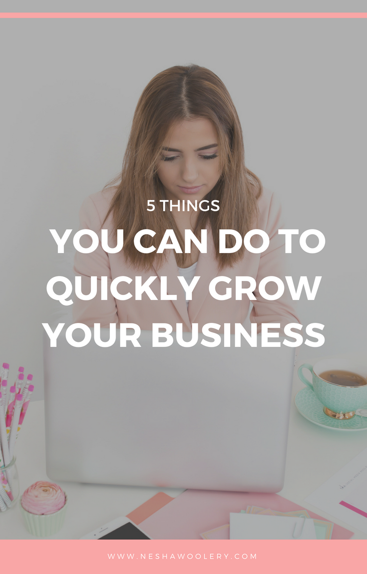 Just click on this pin to find out 5 steps to quickly growing your business and how those 5 steps helped my business become what it is today. #Freelance #Marketing #Business #Freelancing #Gettingstarted