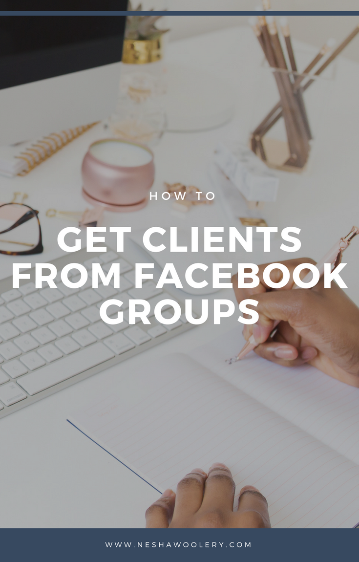 How to get clients from Facebook groups | Need to book more clients? Getting clients from Facebook groups and other social media websites seems hard but it isn't- honest! Click through to see how I find and book clients through Facebook groups. #Freelance, #Socialmediamarketing, #Business, #Clients, #Facebook