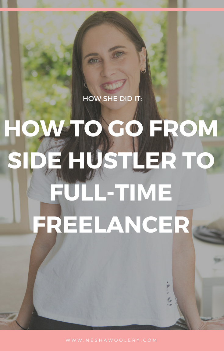 Click on this pin to read Jo Whyte of Simply Whyte Designs story on how she was able to quit her day job and take her business full-time! #Freelance #Business #Startfreelancing #Hustling #Inspiration