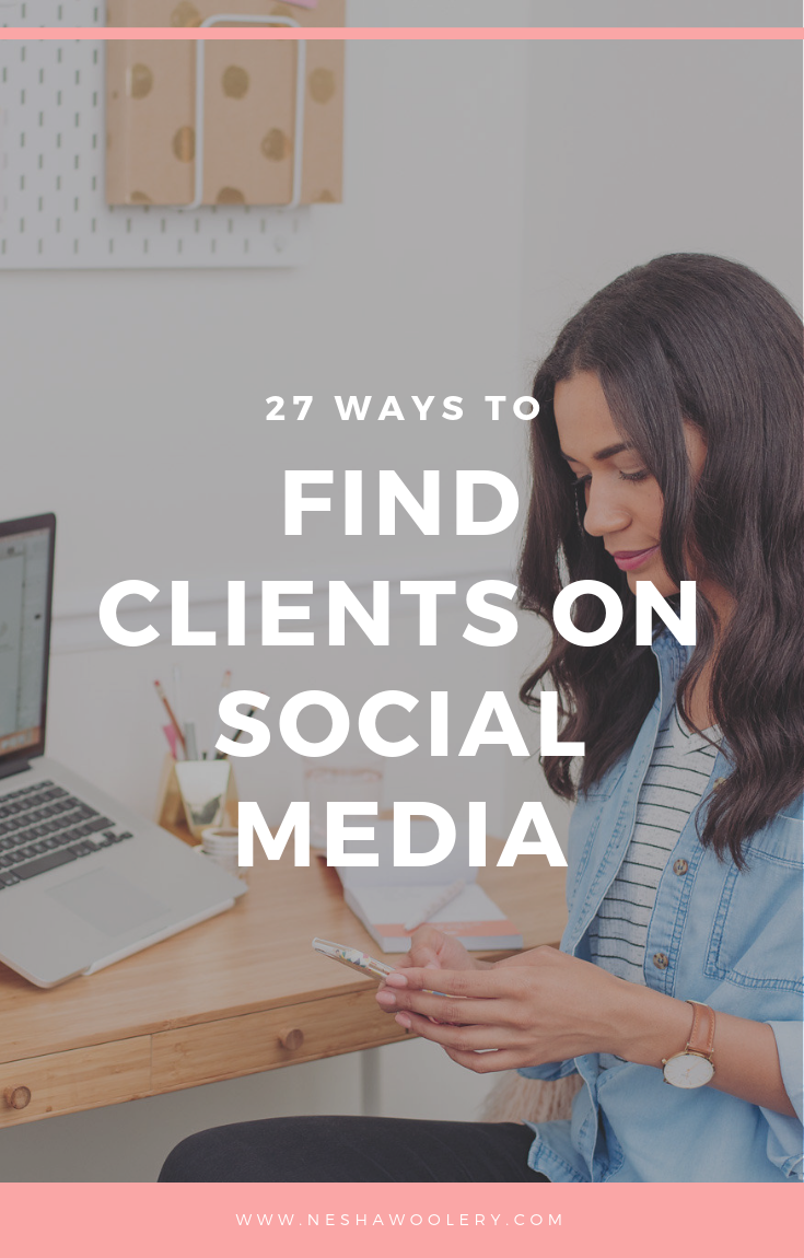 Find out some concrete actions you can take to find clients on social media and keep your business ticking. #Business #Socialmediamarketing #Freelance #Tips #Idea