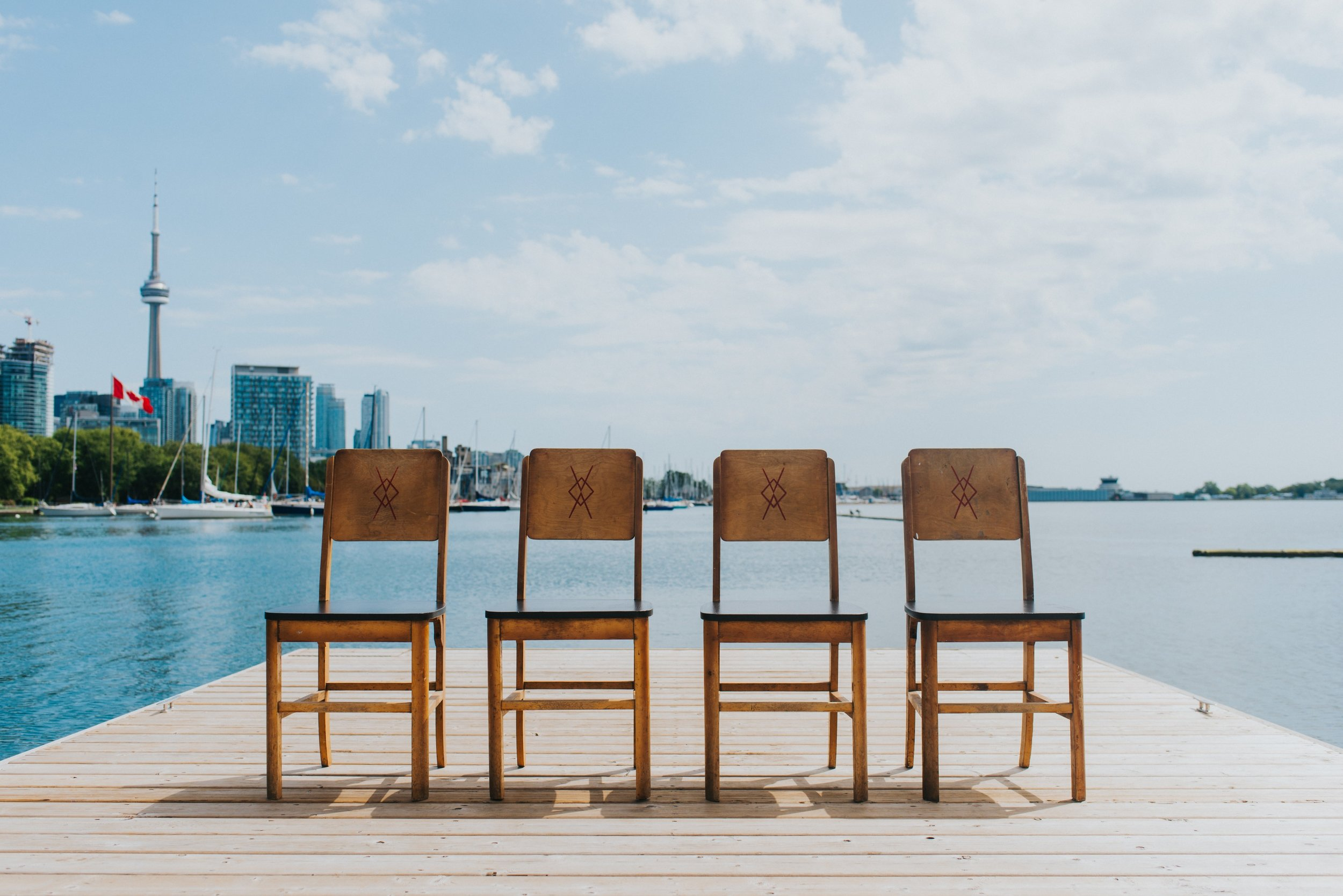 CHARLIE WOODEN SIDE CHAIRS