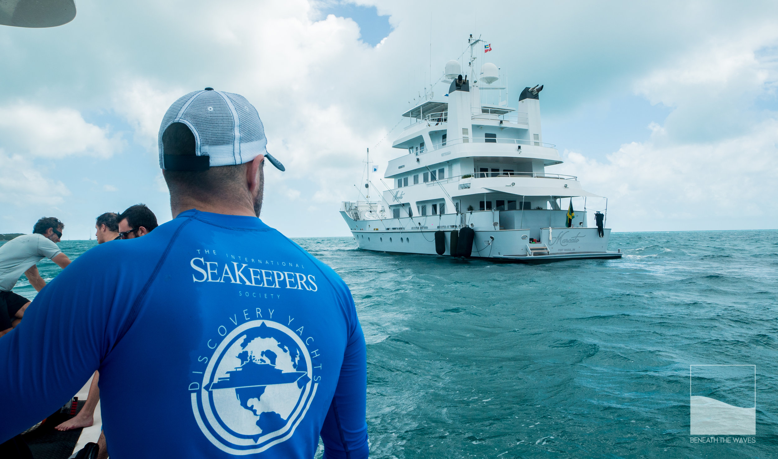 Massive thanks to the SeaKeepers for helping support good science