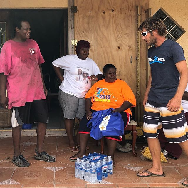 A few scenes of @joecreature @gatron2020 and @samteicher of the Coral Vita team along with @markoayling of @vagabrothers delivering #HurricaneDorian aid and relief from the @gbdisasterrelieffoundation to the #GrandBahama community over the past week. This is what our #ClimateEmergency looks like. . 📸: @carlosmason