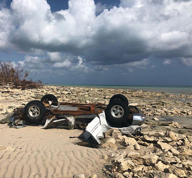New oceanside views by #HighRock #GrandBahama courtesy of #HurricaneDorian.