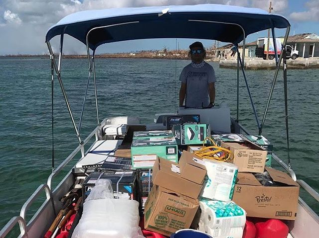 Gator and Joe are on their way back to #GrandBahama tomorrow, but Coral Vita continues doing what we can to help in #Bahamas disaster relief efforts during our time away. 🇧🇸❤️💪🏼 . This weekend, our friend @hopssla hopped aboard our 🚤 Winky the Reef Doctor and teamed up with partners from @gbdisasterrelieffoundation, @jeremyknowles1, @IsraAID, @teamrubiconuk, Henry St. George, Rick Hayward, Alexandra Sitwell, and others to deliver supplies out to the remote eastern settlement of #SweetingsCay. . The waters out there are treacherous, with new bathymetric changes alongside buried cars and trucks making the channel a tough one to navigate on the best of days. Water, food, inflatable beds, generators, fuel, tools, and more were brought out over multiple trips to help residents recover and rebuild. . Please keep the people of the #Bahamas in your thoughts. #DisasterFatigue is a real thing, and folks here will need continued help for a long time. Resilient rebuilding is critical to mitigate future damages from our ongoing #ClimateEmergency, and we plan to help aid more in this long-term effort once immediate relief aid is distributed and stabilized.