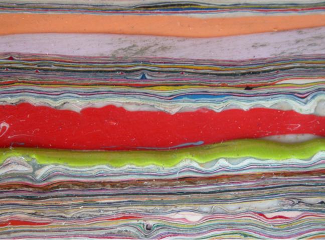 Paint on Canvas #5 (Detail)