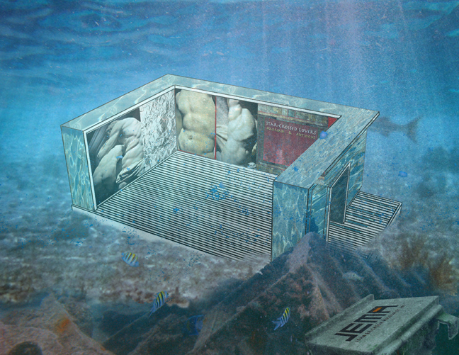 Cyríaco Lopes, Star-Crossed Lovers, Digital Collage, 2010.