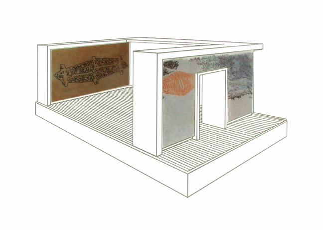 Derrick Buisch, Arrows, Drawing Installation, 2009.