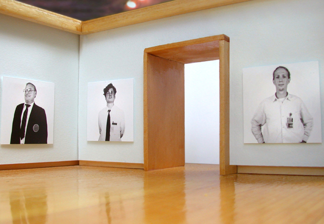 Exhibition view, John Kieltyka, Guards, 2007.
