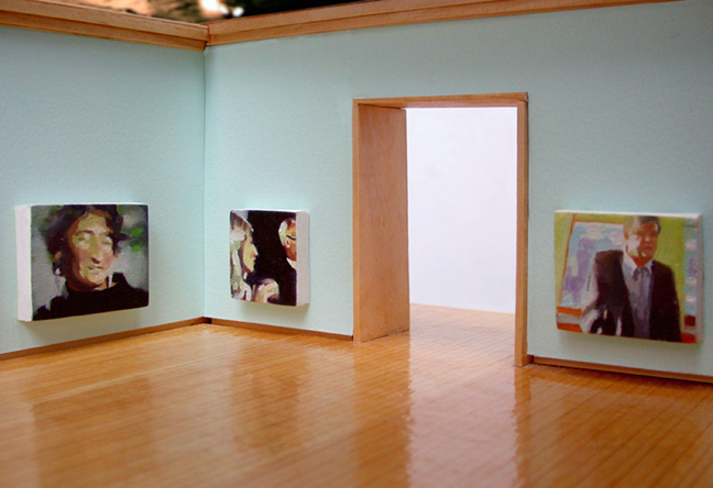 Exhibition view, Kim Anderson, Ways of Seeing Inside Out, 2004.