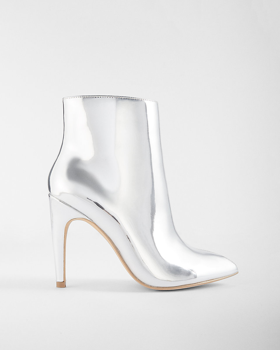 Express: Silver Booties