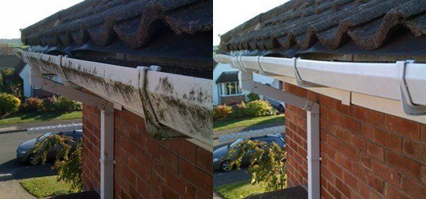 uPVC and gutters -