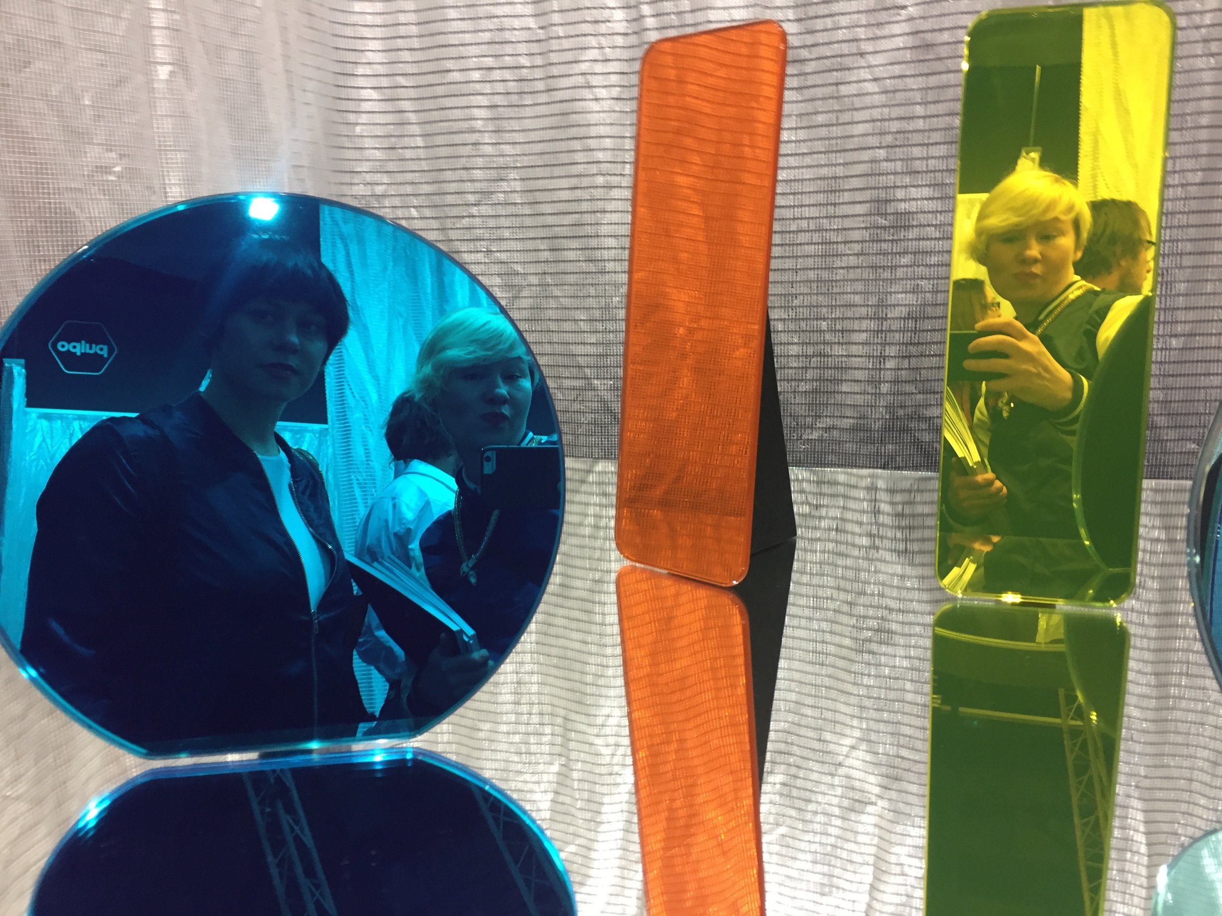 G+S diesjähriges Spiegel-Selfie @ Pulpo