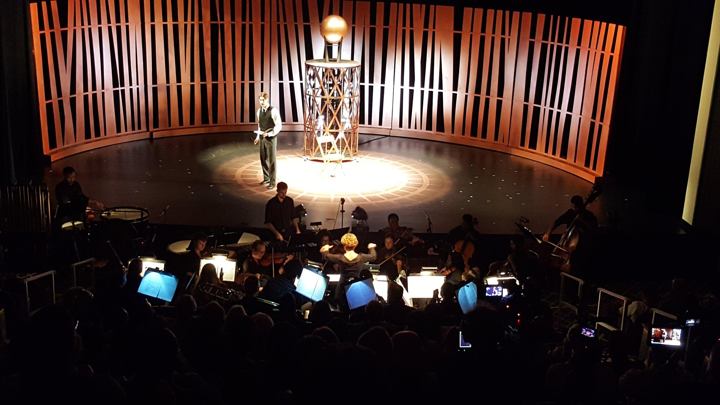 TELSA - A multi-Disciplinary Opera streamed live from the Colony Theatre in Miami Beach