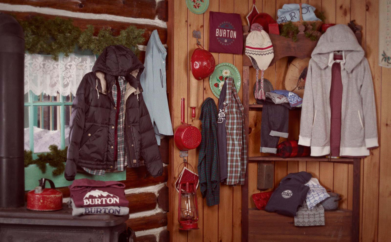 Burton Holiday 2014 Womens Apparel