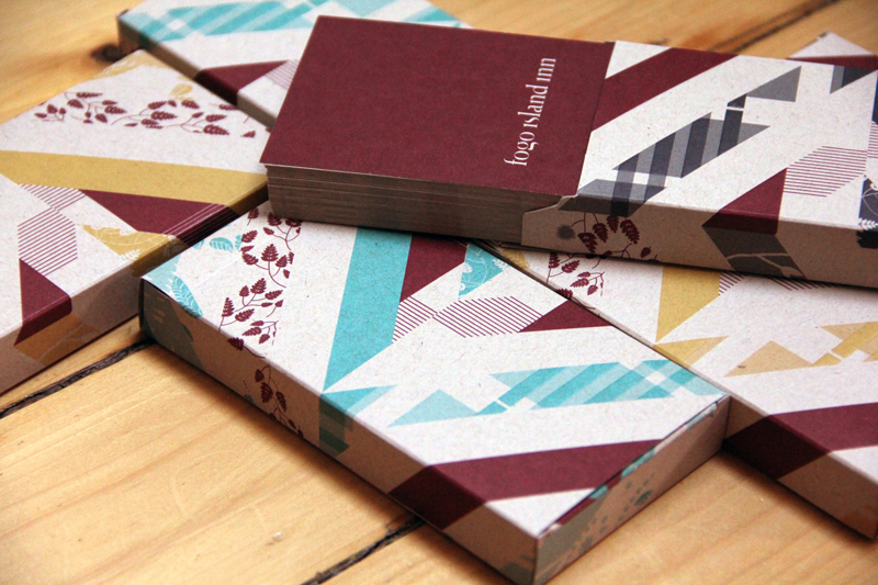 Playing cards and packaging