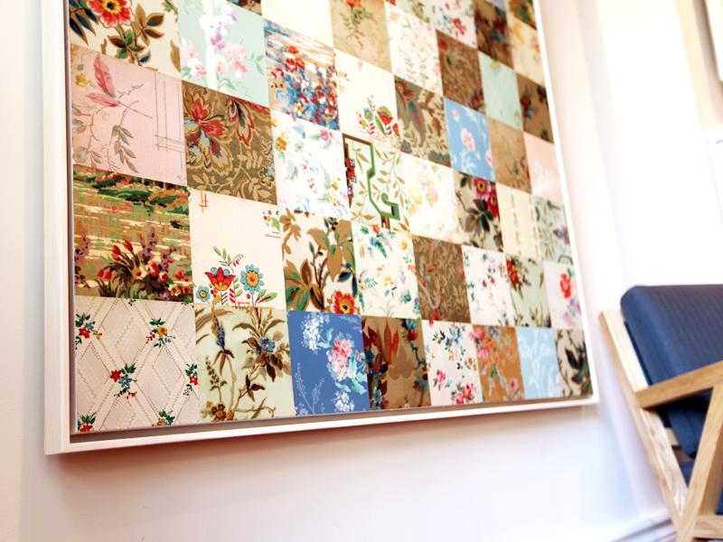 "48"" x 48"" Custom wallpaper artwork"
