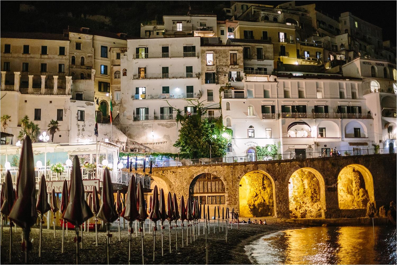 A night in Amalfi.