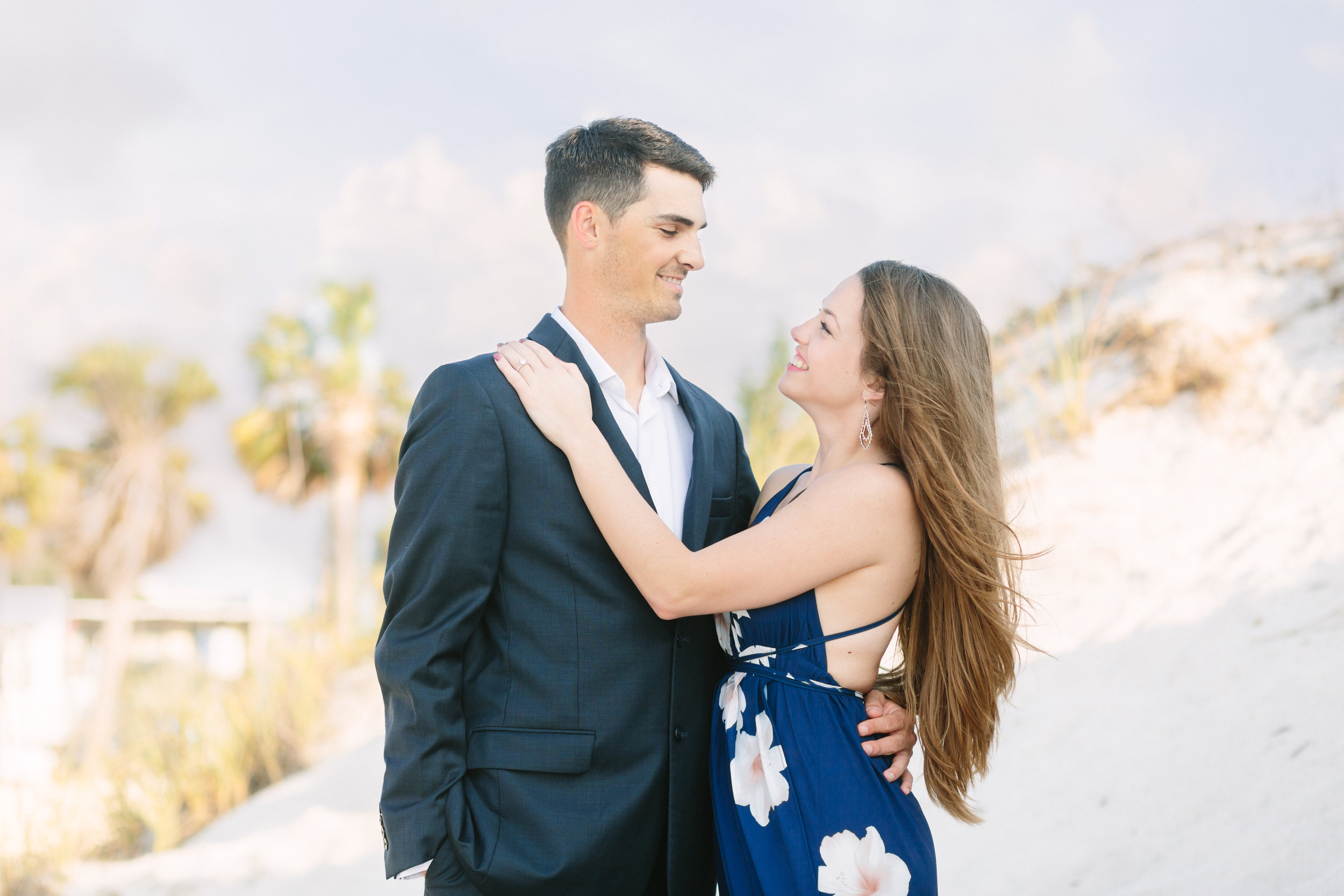 Hoby + Kathryn's Engagement Session at Sandpearl Resort in Clearwater Beach, FL