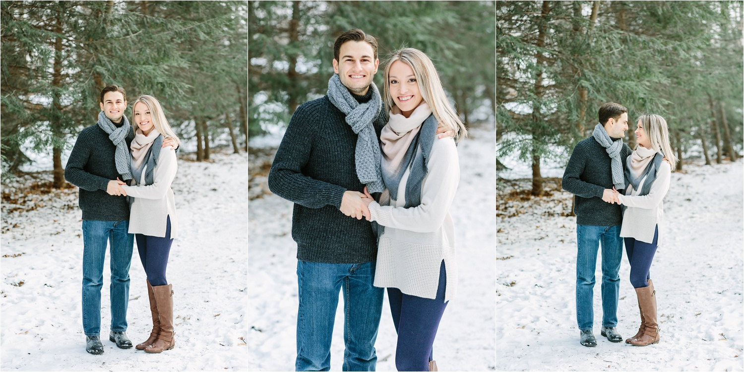 I love how even in winter you can still find greenery. And all the white snow makes my photographer heart happy!!