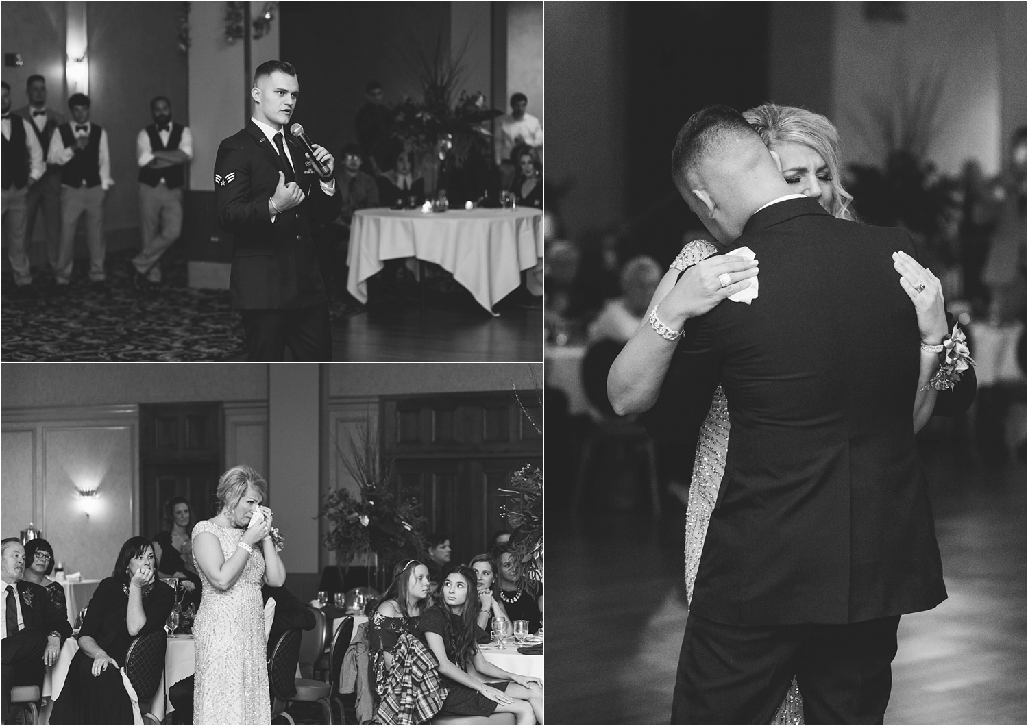 The Mother/Son dance was an emotional one.