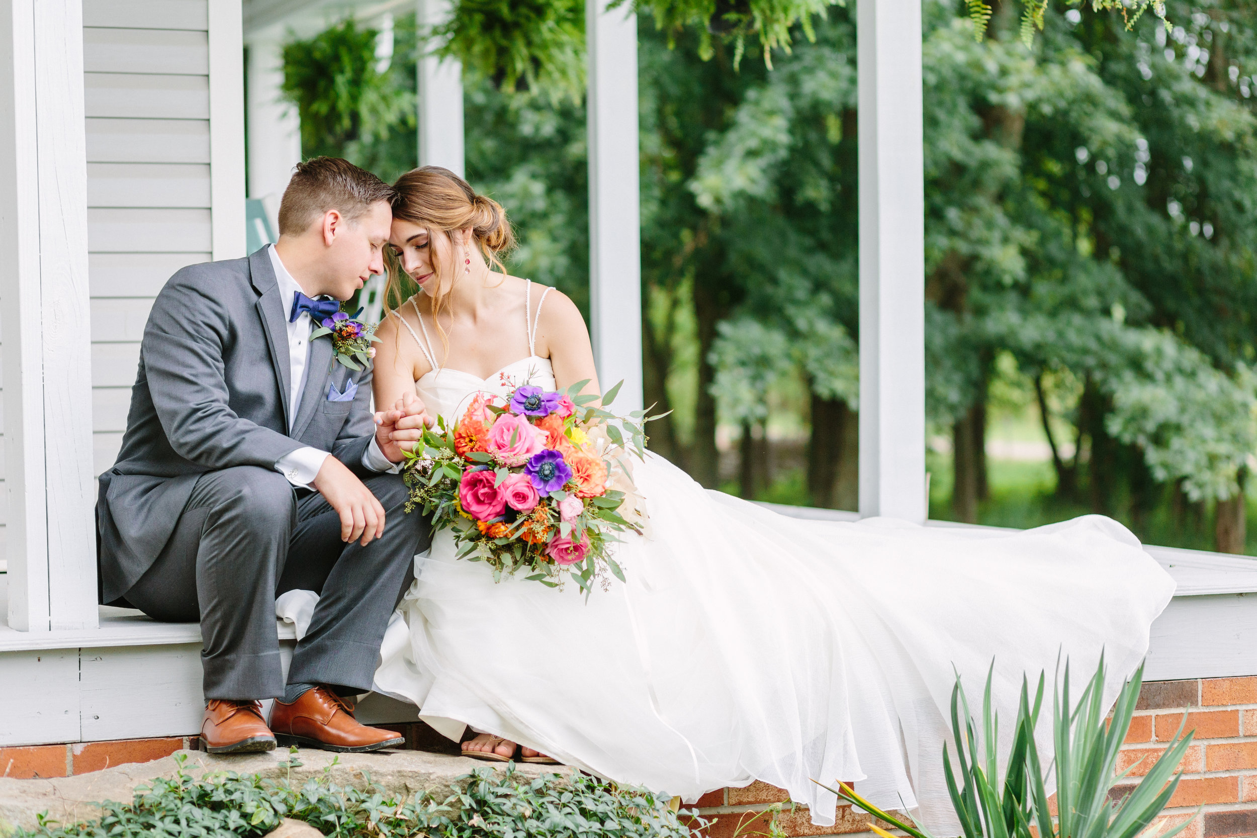 Rustic outdoor youngstown wedding