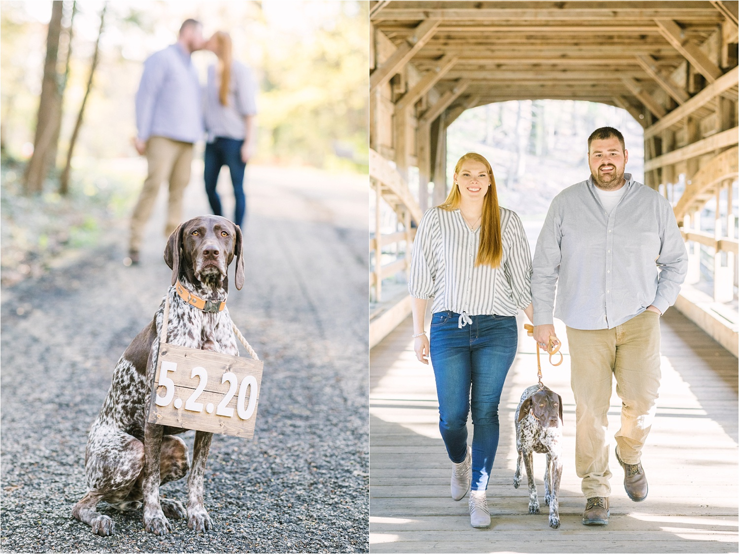 lanterman's mill engagement session at mill creek