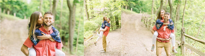 Lanterman's Mill fun engagement photos