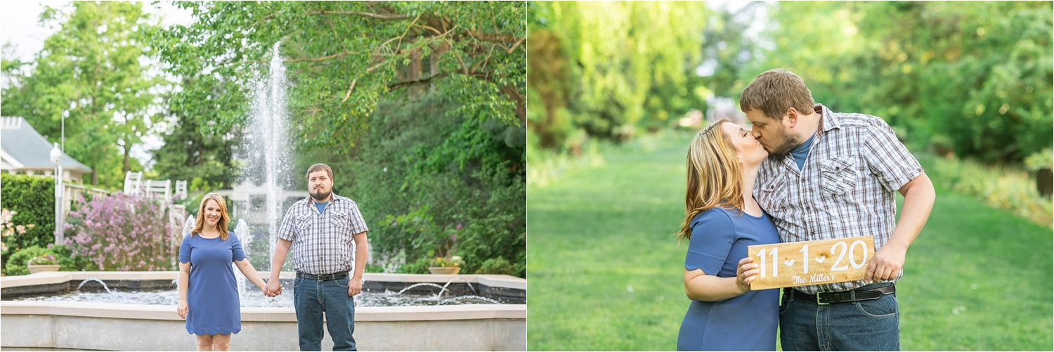 fellows riverside gardens engagement photos by Jessica Kae Photography