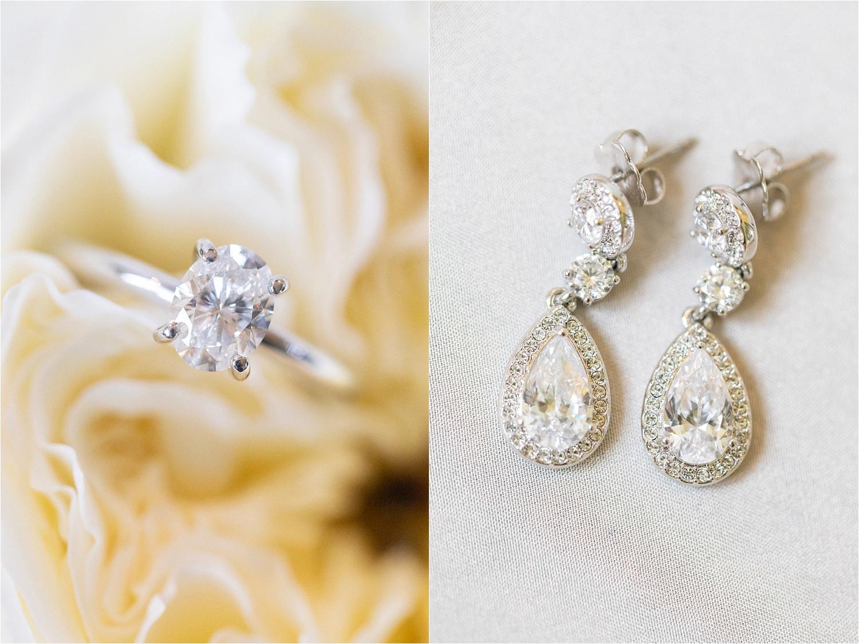 stunning wedding detail photos of engagement ring