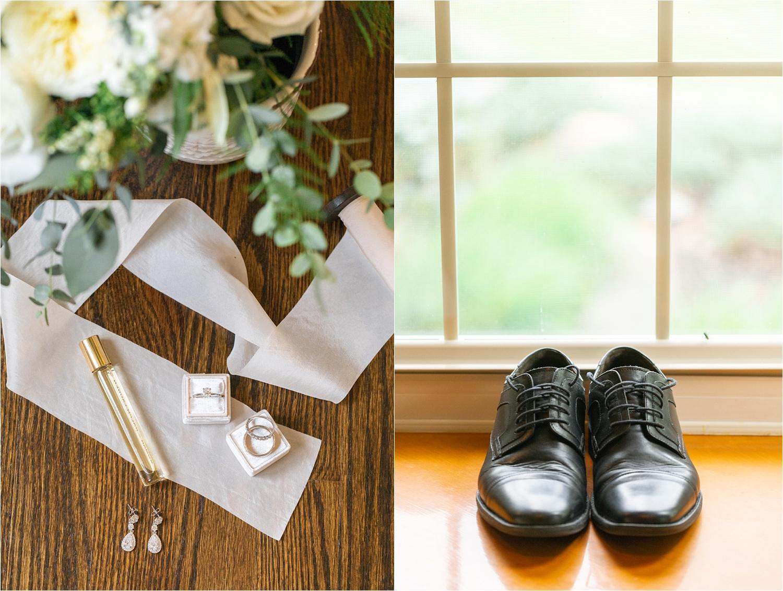 styled wedding details