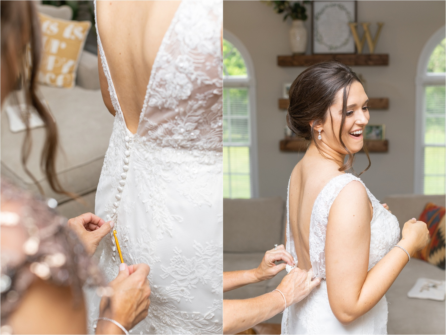 youngstown bride getting ready photos