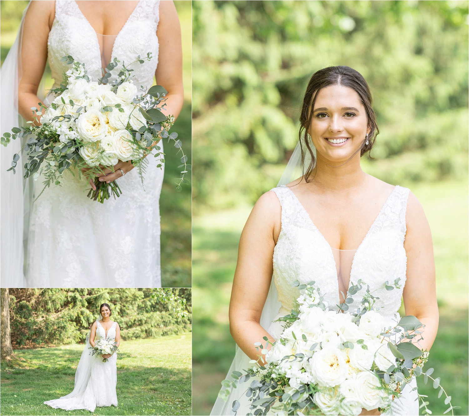 youngstown bride professional wedding photos