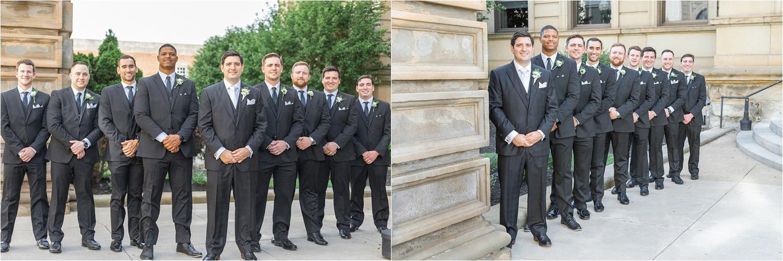 bridal party photos at the george washington hotel