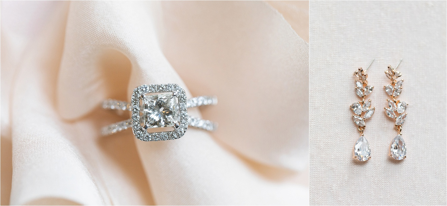 gorgeous engagement ring for youngstown wedding