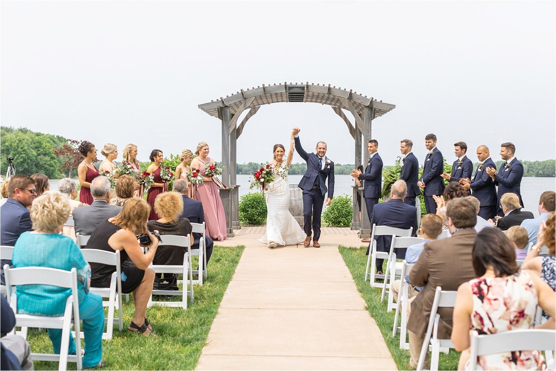 june wedding at the vineyards at pine lake