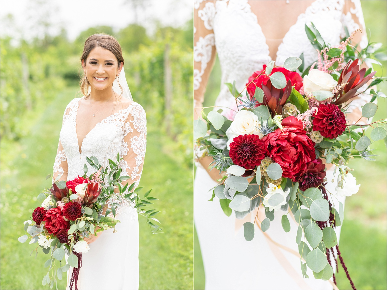 Isn't Sydney breathtaking in her stunning Pronovias wedding dress from Toula's Bridal?!!