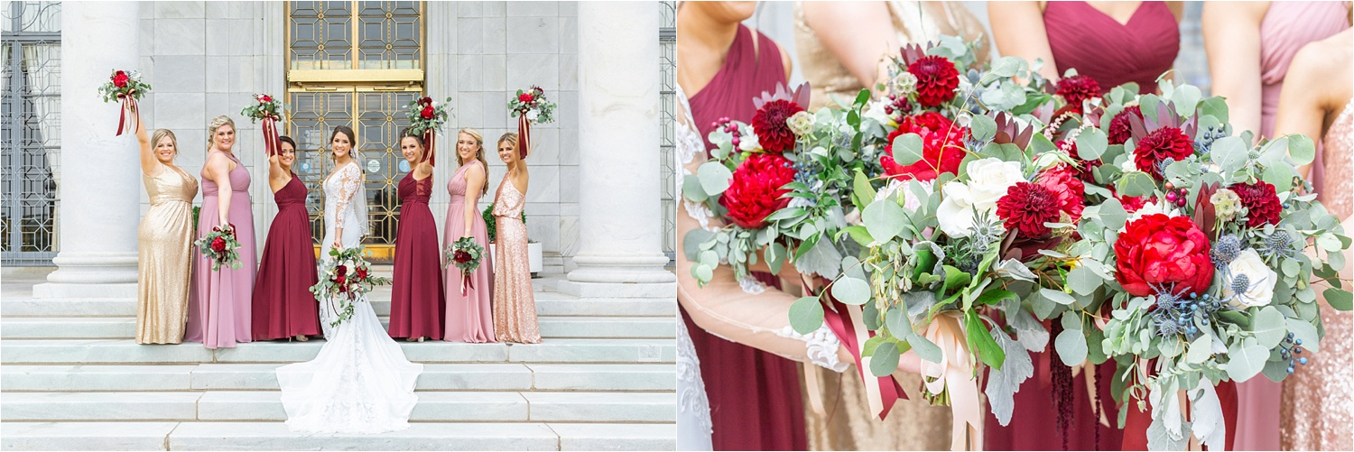 wedding photos at the butler institute of american art in youngstown ohio 3